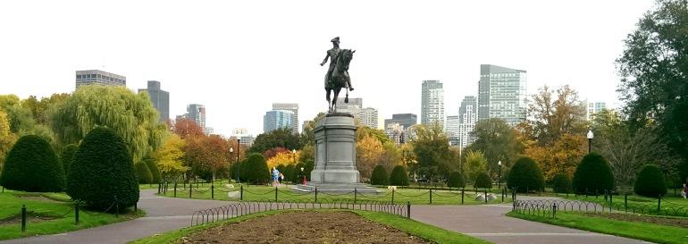 First destination: Boston