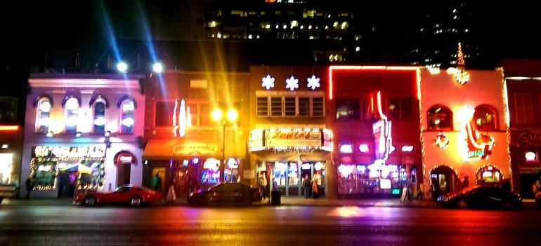 Bright lights of Nashville