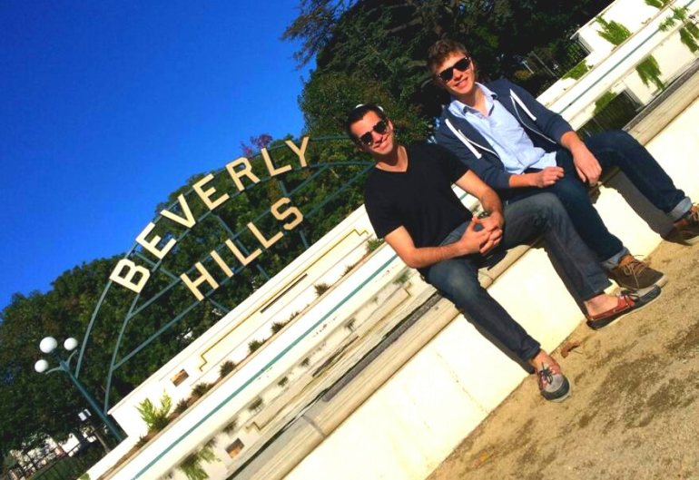 Best host David and I in Beverly Hills