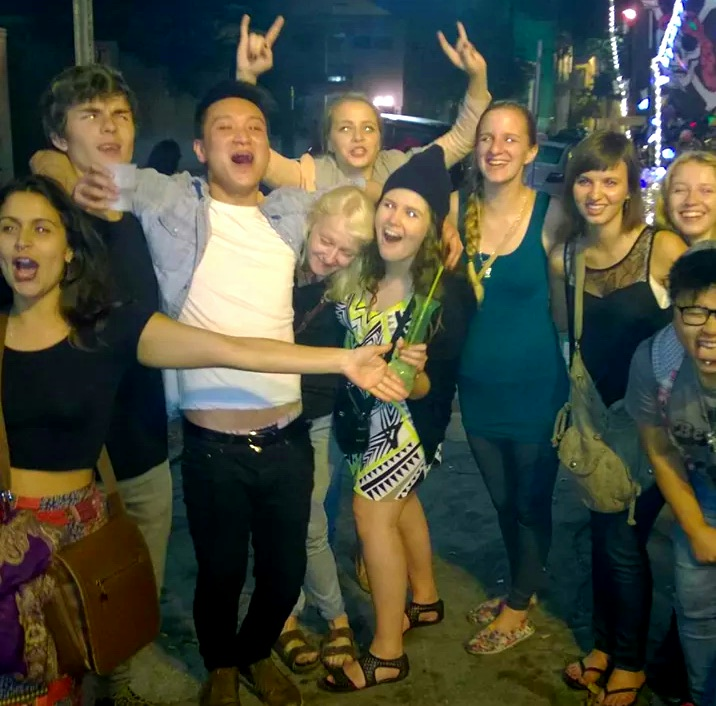 The gang in N'awlins