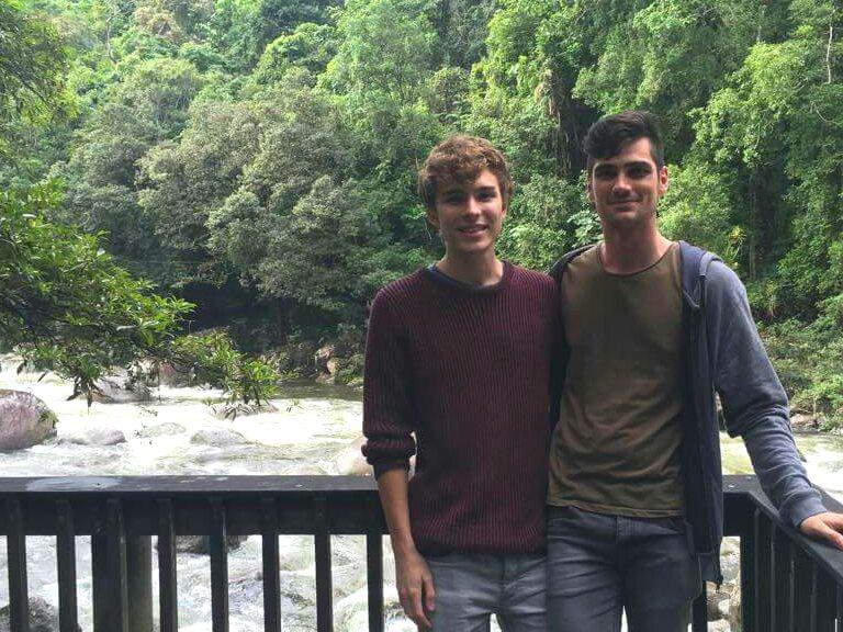 Jake and I at Mossman