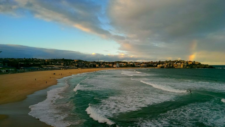 Bondi Beach for the last (?) time
