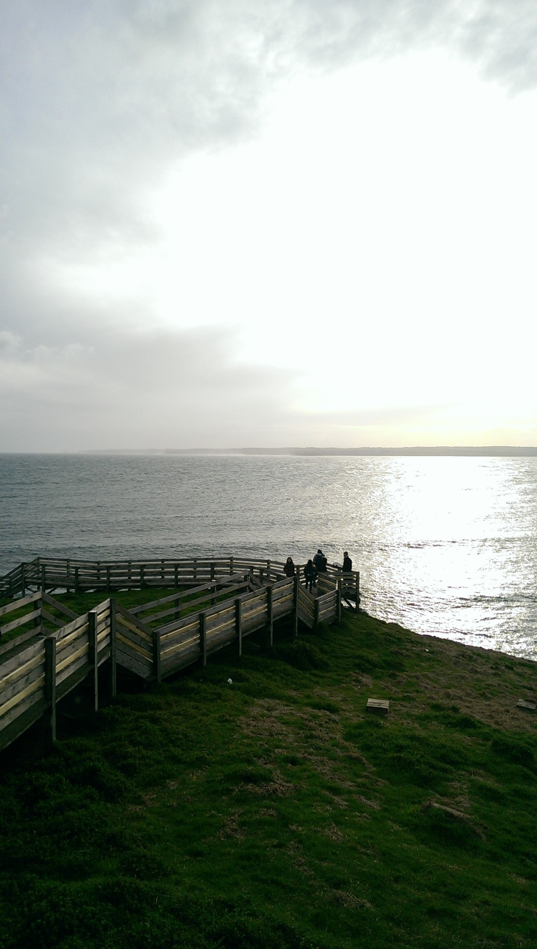 The view from the Western tip of Phillip Island