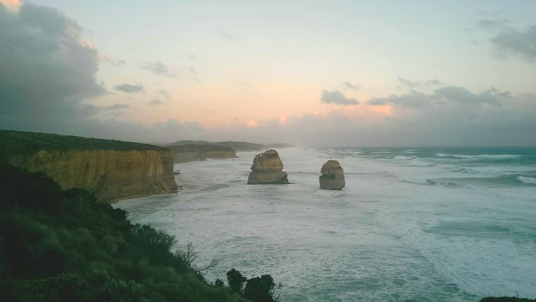 Part of the 12 Apostles. My photos are pants but trust me it was incredible!