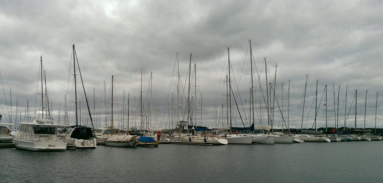 The harbour at St Kilda