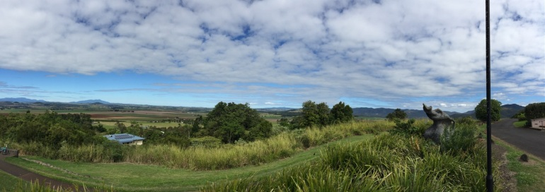 Panorama view of the Atherton Tablelands