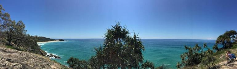 Panorama from Straddie