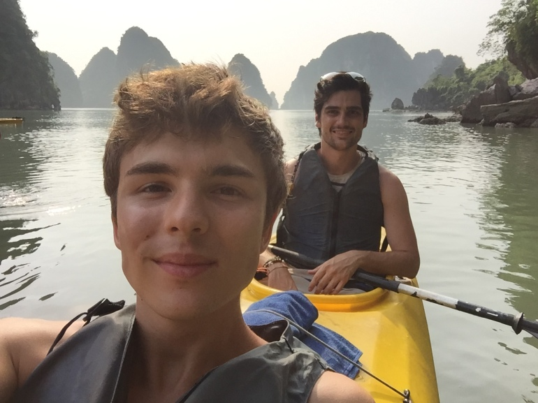 Us in the kayak