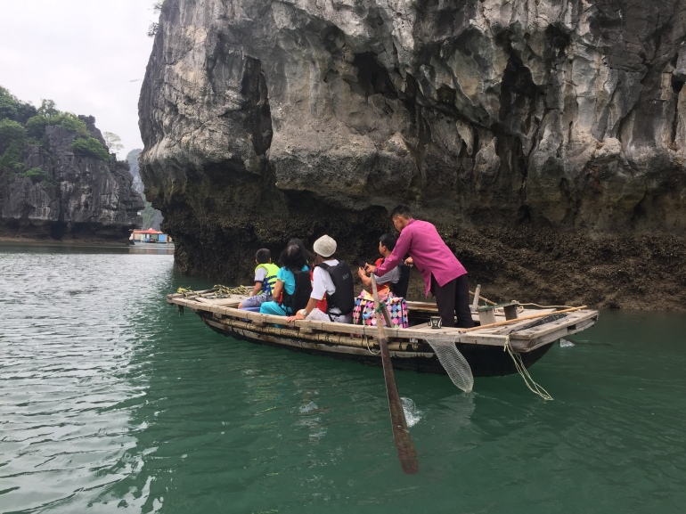 Trip to see the floating village